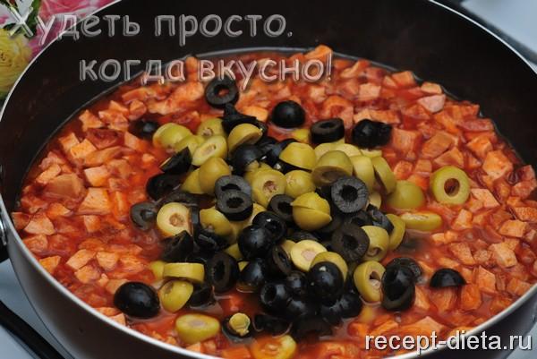Солянка с колбасой без картошки рецепт пошагово