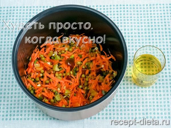 Рис в мультиварке поларис рецепт с фото