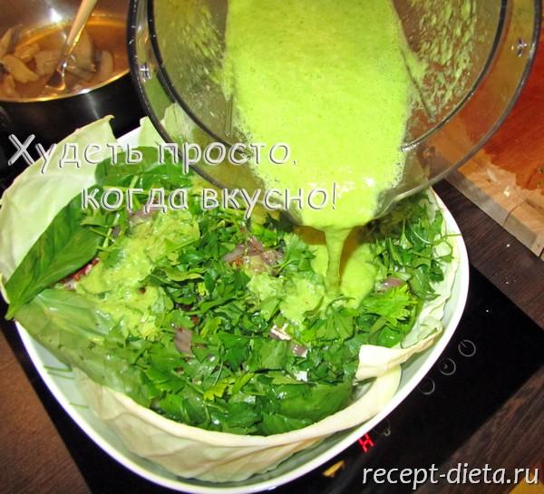 капустный салат с ананасом