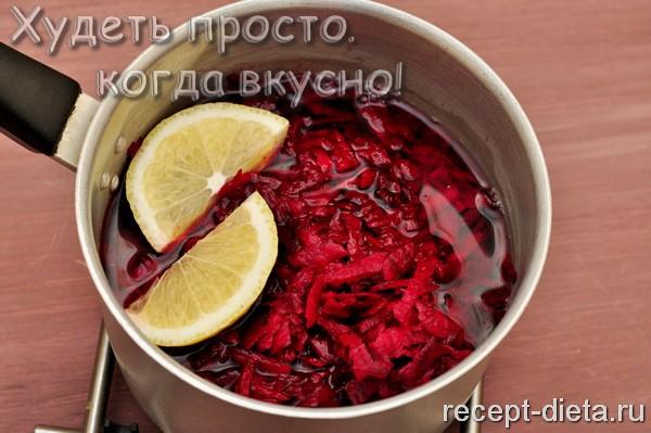 рецепт борща без картошки