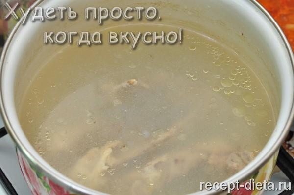 борщ без картошки