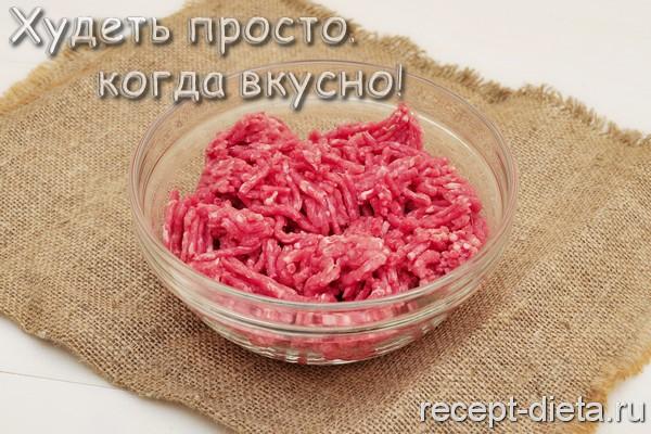 мясной рулет без муки