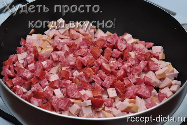 солянка с колбасой рецепт с фото пошагово