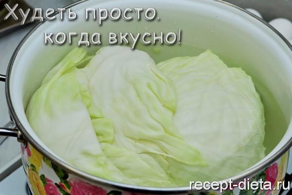 голубцы рецепт с фото пошагово