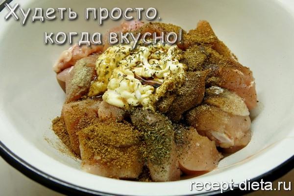 запеченная курица в духовке рецепт с фото