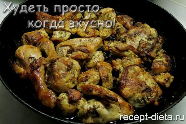 запеченная курица рецепт с фото