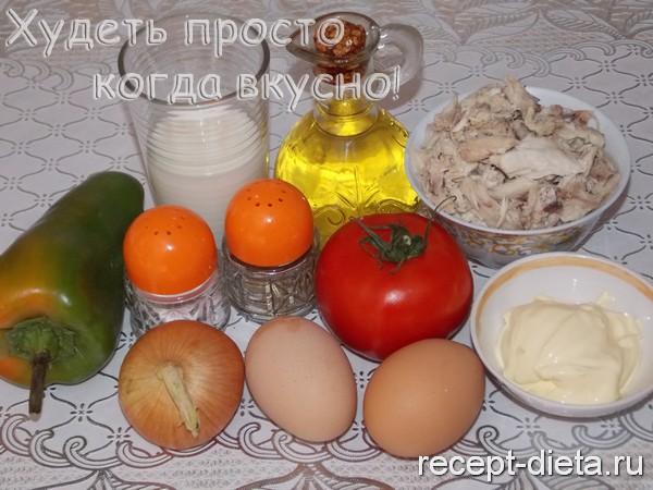 куриная запеканка в духовке рецепт с фото
