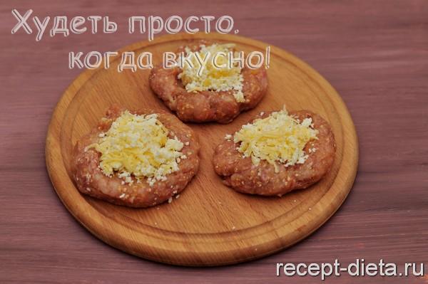 куриные котлеты с сыром пошаговый рецепт