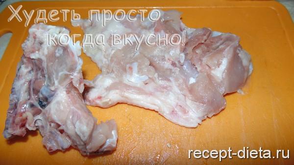 рулеты из курицы с грибами и сыром