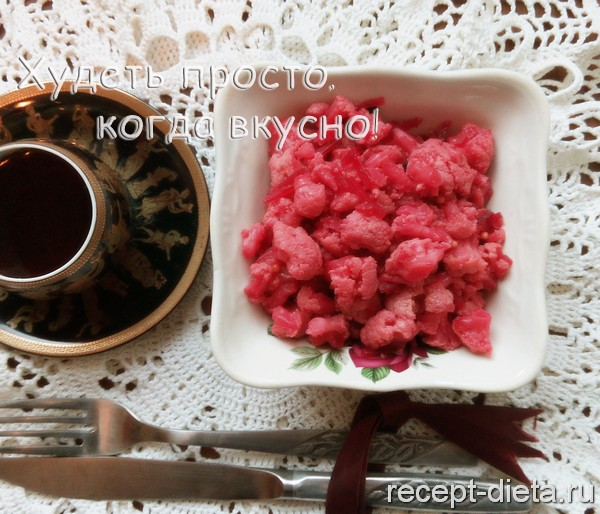 маринованная цветная капуста со свеклой быстрого приготовления